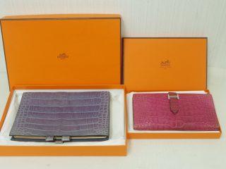 クロコダイルの財布と手帳カバー